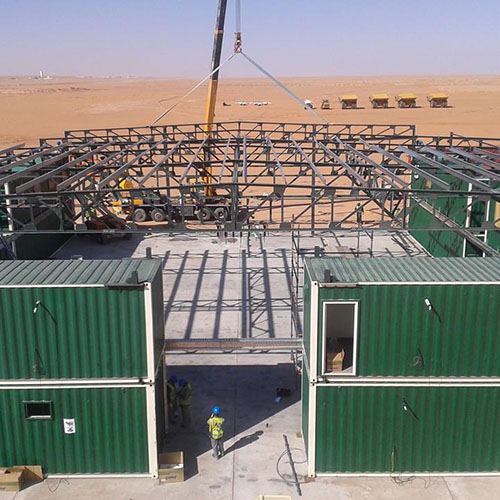 MA'ADEN ALUMINUM TEMPORARY MINE EQUIPMENT MAINTENANCE FACILITY