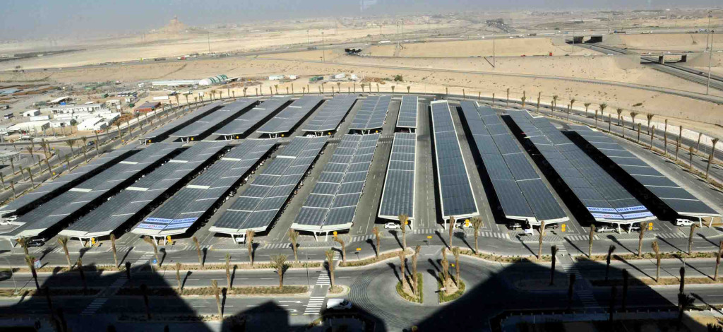 Saudi Aramco Solar Car Park on car inverter