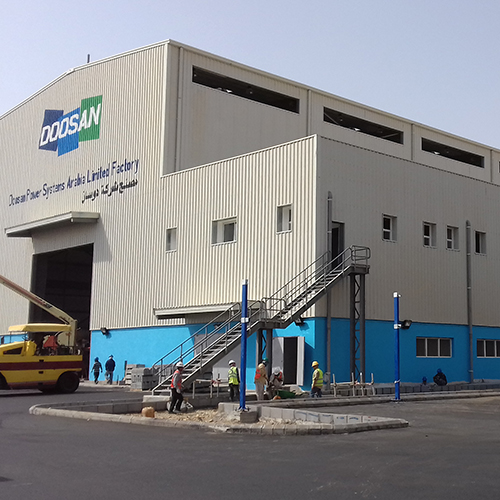 DOOSAN MAINTENANCE FACILITY
